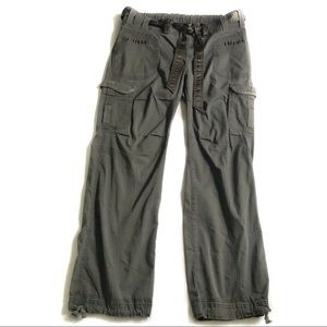 Mimi Maternity Cargo Pants- L